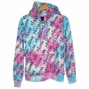 PIXAR Disney Tie Dye RARE Hoodie Sweatshirt Unisex